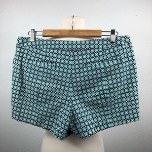 GAP Shorts - Green and Blue High Rise Shorts by Gap